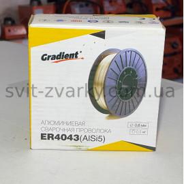 Алюмінієвий зварювальний дріт ER4043 0,8мм 0,5кг