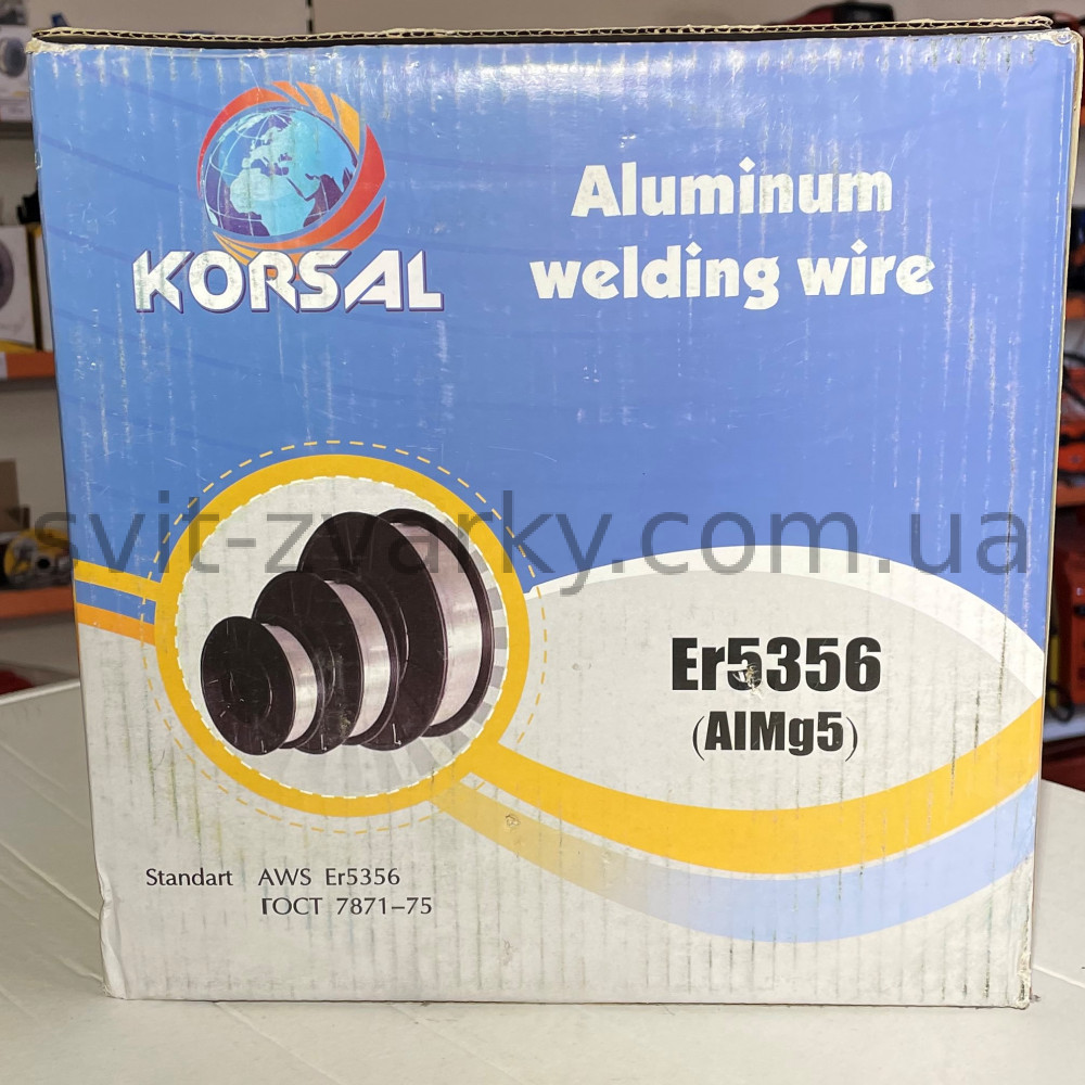 Алюмінєвий дріт ER5356 Ø1,2 мм (7 кг) AlMg5