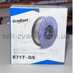 Дріт флюсовий E71T-GS Ø0,8 мм (1 кг) самозахисний