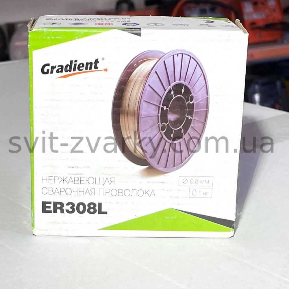 Зварювальний дріт для нержавійки ER308 0,8мм 1кг
