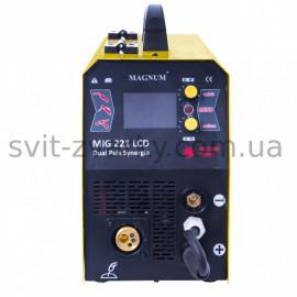 Напівавтомат MAGNUM MIG 221 DUAL PULS LCD (Польща)