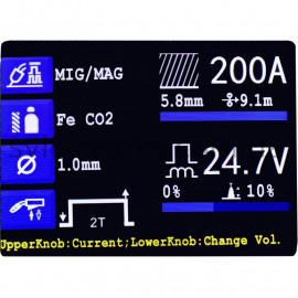 Напівавтомат MAGNUM MIG/MAG 223 LCD DUAL PULS SYNERGIA (Польща)