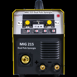 Напівавтомат MAGNUM MIG 215 DUAL PULS SYNERGIA (Польща)