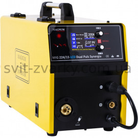 Напівавтомат MAGNUM MIG/MAG 224/15 LCD DUAL PULS SYNERGIA (Польща)