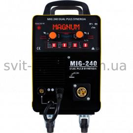 Напівавтомат MAGNUM MIG/MAG 240 DUAL PULS SYNERGIA (Польща)