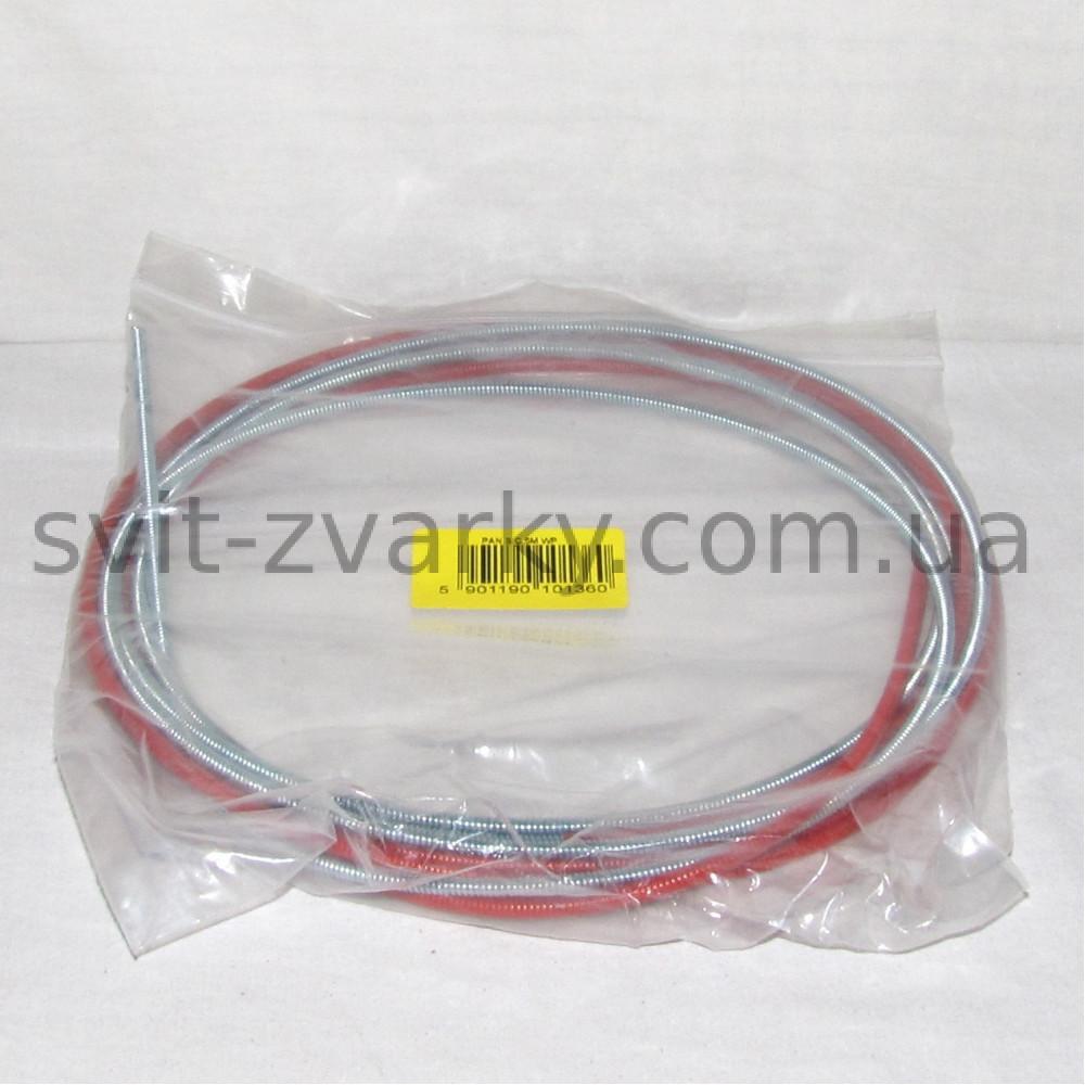 Канал (спіраль) червоний для дроту 1,0-1,2мм 5,5м