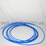 Тефлоновий канал синій для алюмінєвого дроту 0,8-1,0мм на метраж
