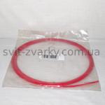 Тефлоновий канал червоний для алюмінєвого дроту 1,0-1,2мм 3.5м