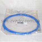 Тефлоновий канал синій для алюмінєвого дроту 0,8-1,0мм 3.5м
