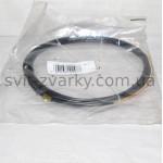 Тефлоновий канал з графітом чорний для алюмінєвого дроту 0,8-1,0мм 4,5м