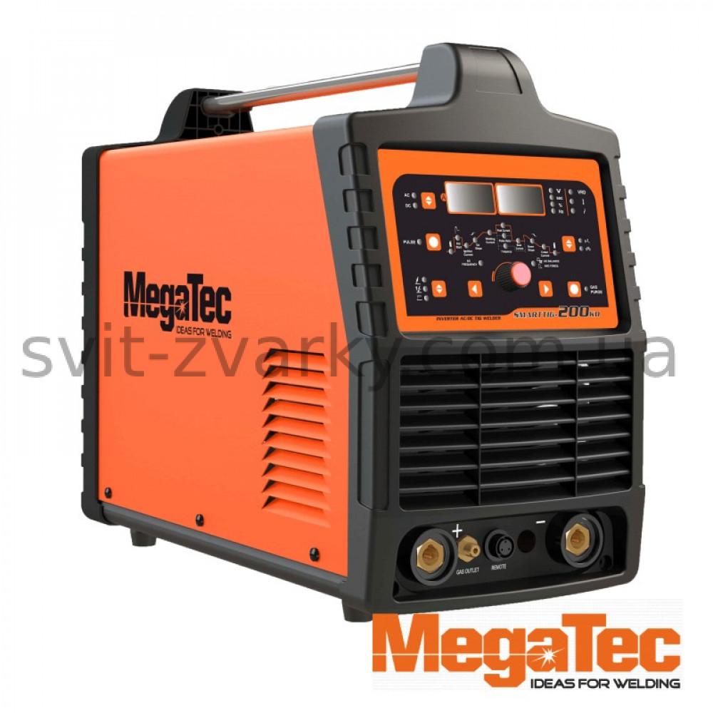 Зварювальний апарат MEGATEC SMARTTIG 200KD