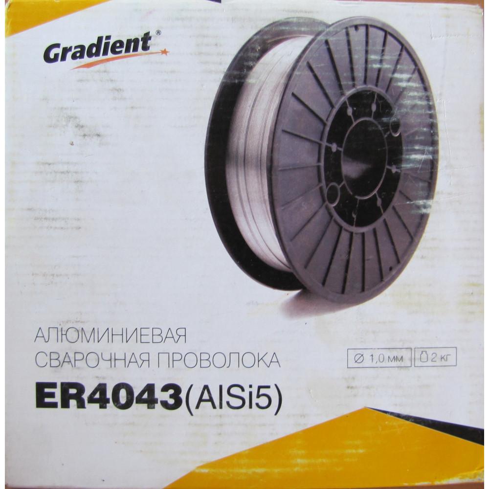 Алюмінієвий зварювальний дріт ER4043 1,0мм 2кг