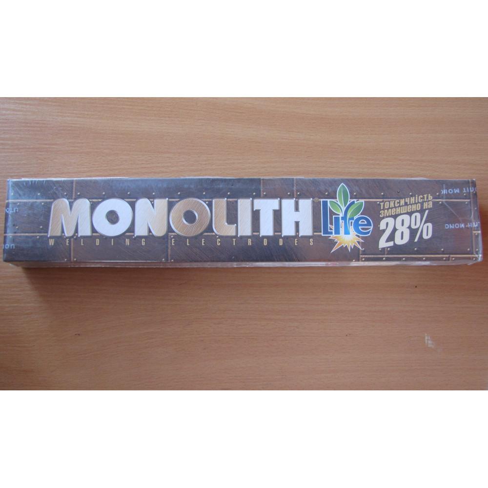 Електроди моноліт 4мм 5кг