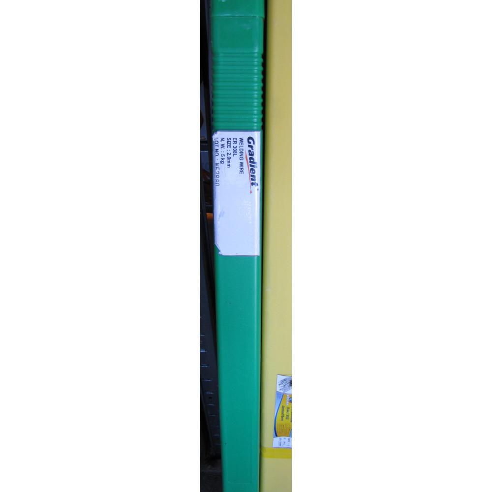 Пруток усадочний для нержавійки ER308 2,0мм 5кг