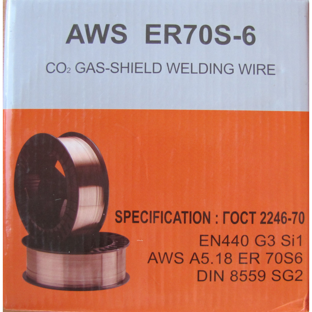 Зварювальний дріт ER70S-6 1,0мм 5кг