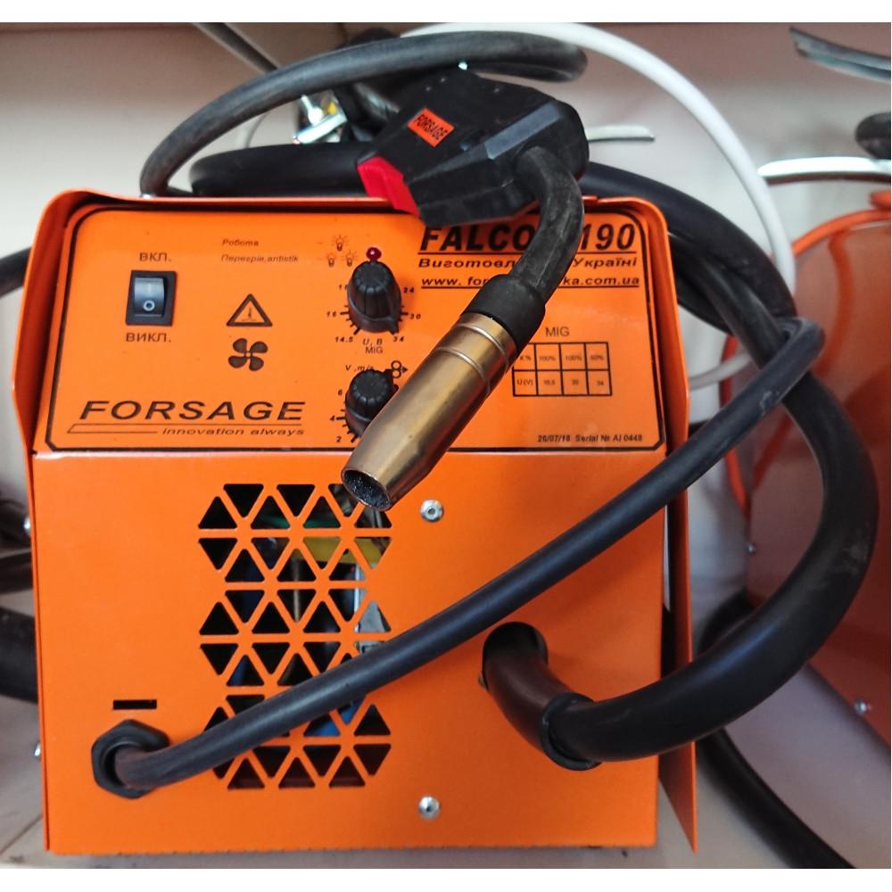 Інверторний напівавтомат FALCON 190 (з вмонтованим кабелем маси)