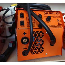 Інверторний півавтомат +ММА FALCON 190 (з вмонтованим кабелем маси)